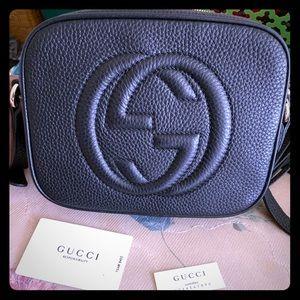 Black Gucci soho disco bag